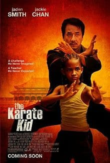 Image of Poster for Karate Kid 2010