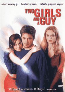 Image of two Girls and a Guy Poster
