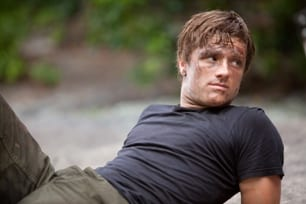 Photo of Josh Hutcherson as Peeta