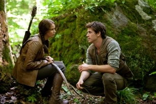 Photo of Katniss and Gale