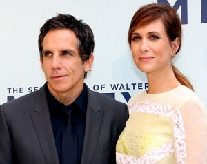 Ben Stiller and Kristen Wiig by Eva Rinaldi