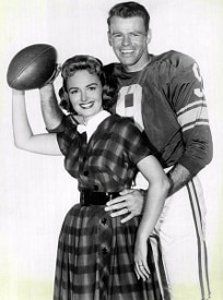 Donna Reed and Football Player (204x275)