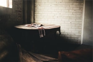 spooky abandoned shack PD