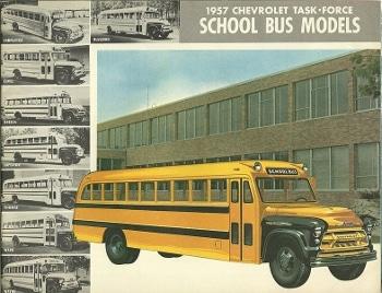 School Buses by John Lloyd