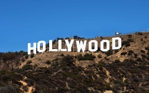 Hollywood sign by Thomas Wolf