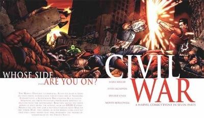 Marvel Civil War Comic