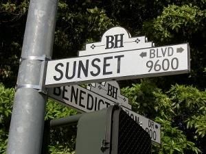 Sunset Boulevard sign by Mr Bullitt