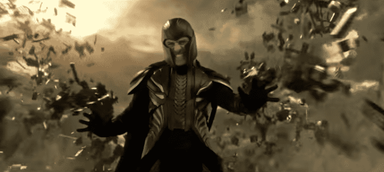 Michael Fassbender as Magneto