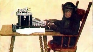 Monkey Typing PD