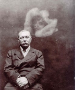 Sir Arthur Conan Doyle with Ghost PD