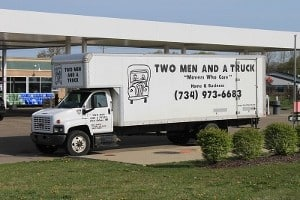 Two Men and a Truck by Dwight Burdette