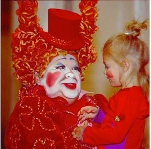 Cirque du Soleil Clown by StuSeeger