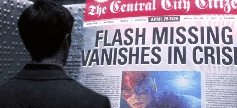 Flash Gordon in newspaper