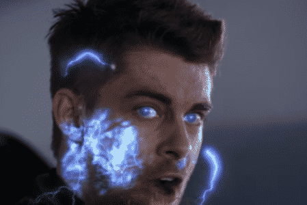 Luke Mitchell as the Inhuman Lincoln in Agents of S.H.I.E.L.D.