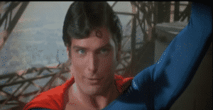 Christopher Reeve in Superman II