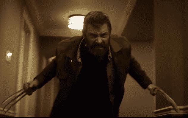 Hugh Jackman as Wolverine in Logan (2017)