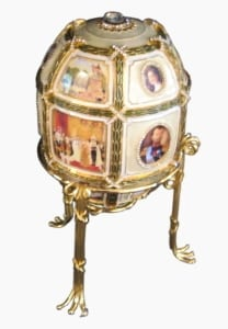Faberge Egg 15th anniversary replica PD