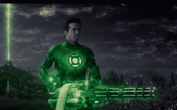 Green Lantern played by Ryan Reynolds (2011)