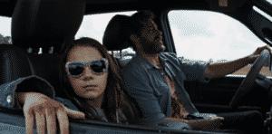 Dafne Keen (X-23) and Hugh Jackman in Logan (2017)