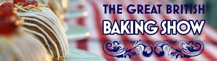 great british baking show poster mary and paul