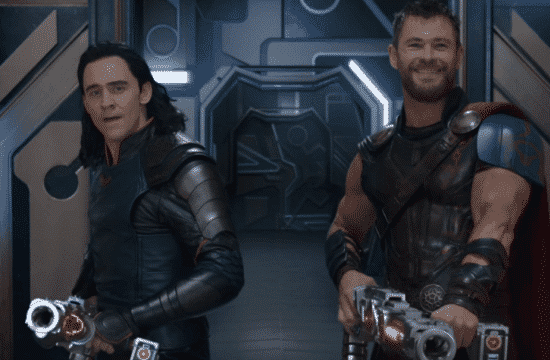 Loki (left) brings his big brother Thor to a battle.