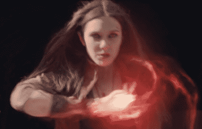 Scarlet Witch (Elizabeth Olson) in The Avengers: Age of Ultron