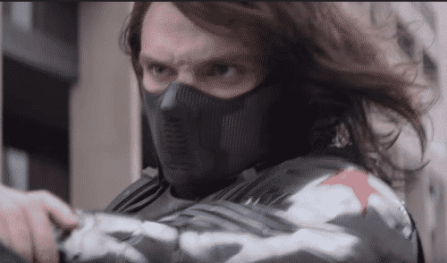 Sebestian Stan as The Winter Soldier
