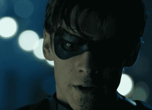 Brenton Thwaites as Robin in Titans