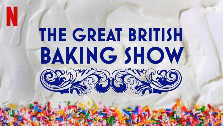 great british baking show poster