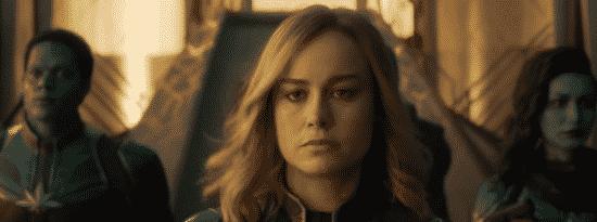Brie Larson as Captain Marvel (2018)