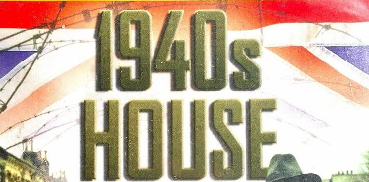 1940s house poster