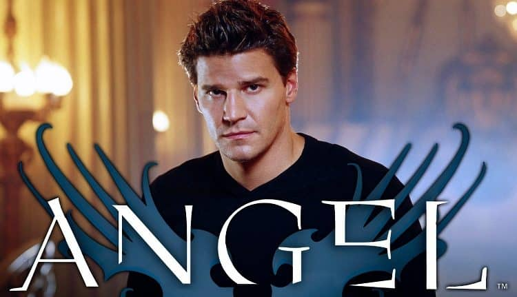 angel tv series poster