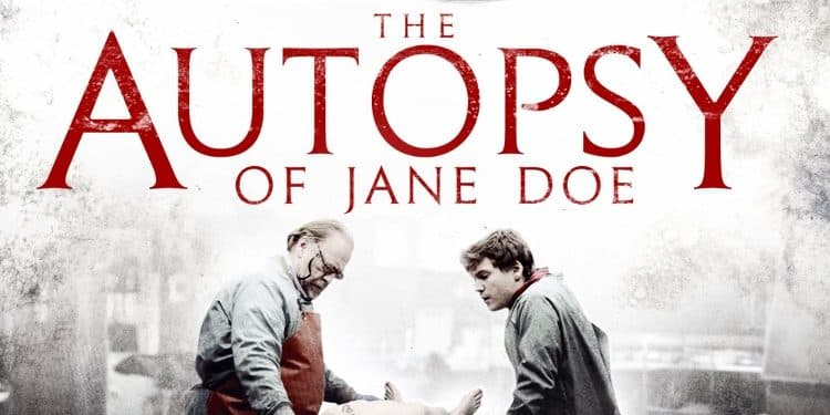 autopsy of jane doe poster