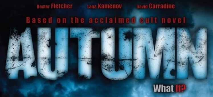 autumn horror movie poster