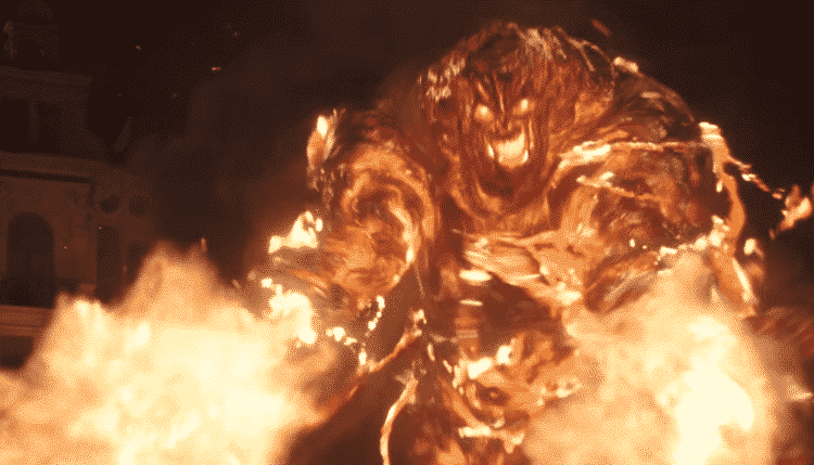 Molten Man in Spider-Man: Far From Home