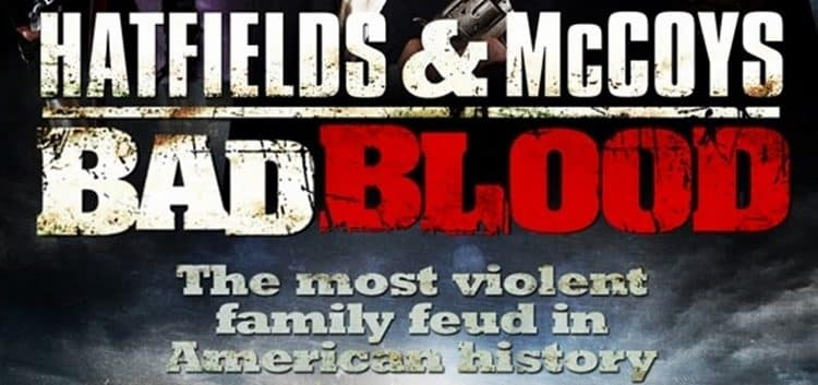 bad blood hatfields and mccoys poster