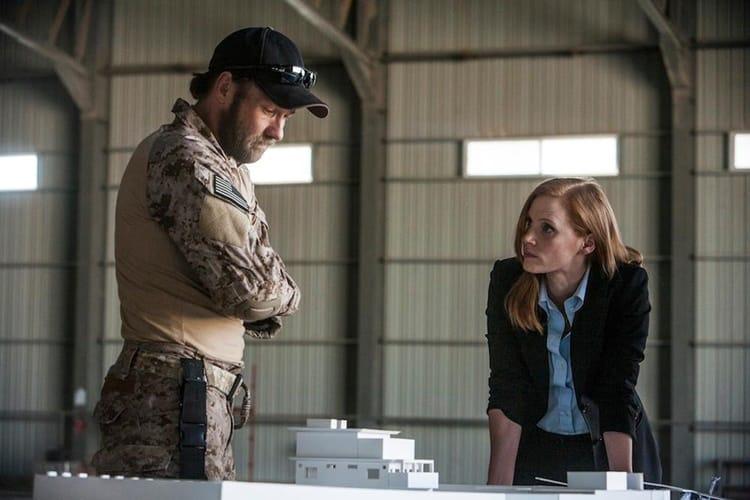 Jessica Chastain stars in Zero Dark Thirty