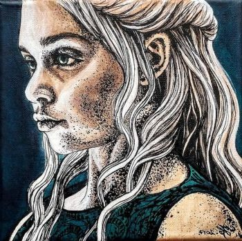 Daenerys by Vathanna
