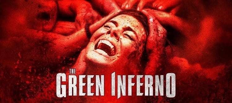 green inferno poster