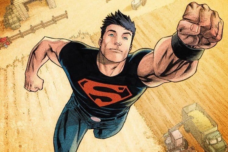 Superboy comic image courtesy DC Comics
