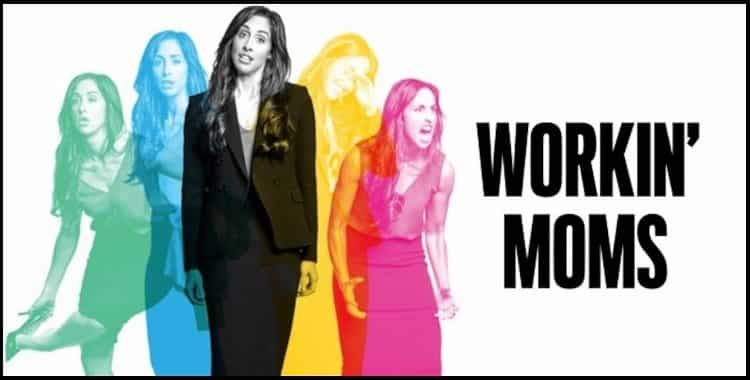 workin' moms seasons 2 and 3 poster