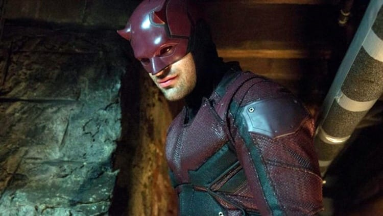 Daredevil played by Charlie Cpx