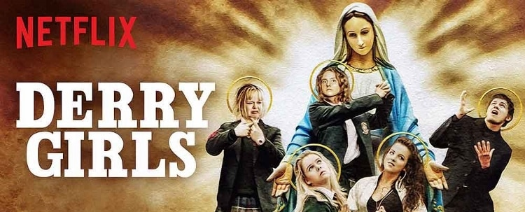 derry girls season 1 poster