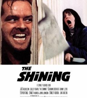 the shining kubrick poster