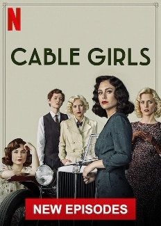 cable girls small poster