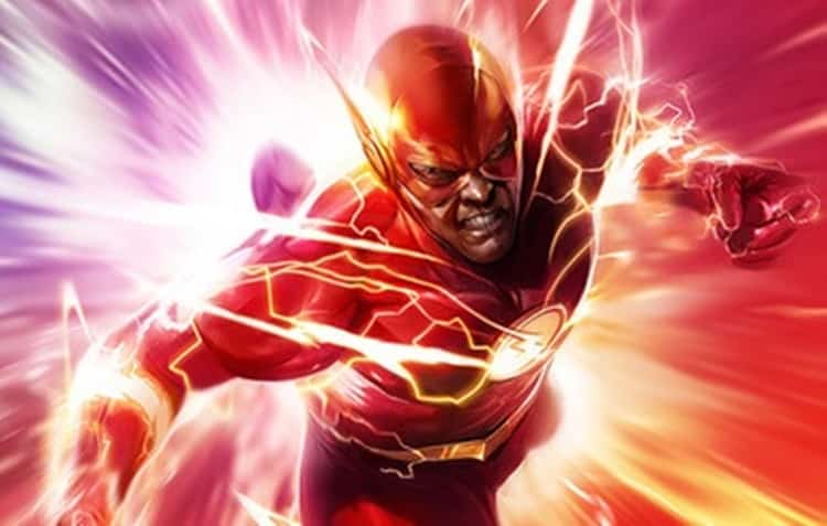Flash uses Speed Force, a top superhero power source