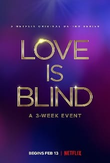 love is blind small poster