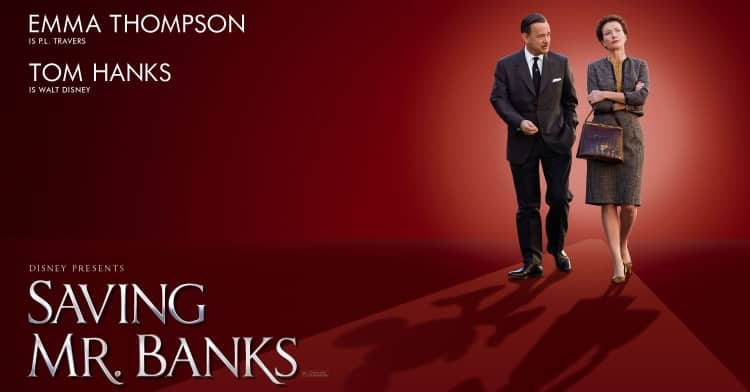 saving mr banks poster