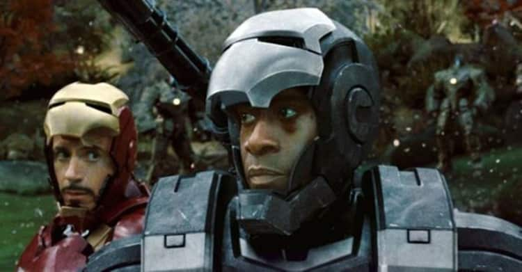 War Machine (Don Cheadle) in Iron Man II