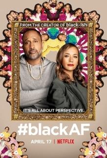 blackaf small poster